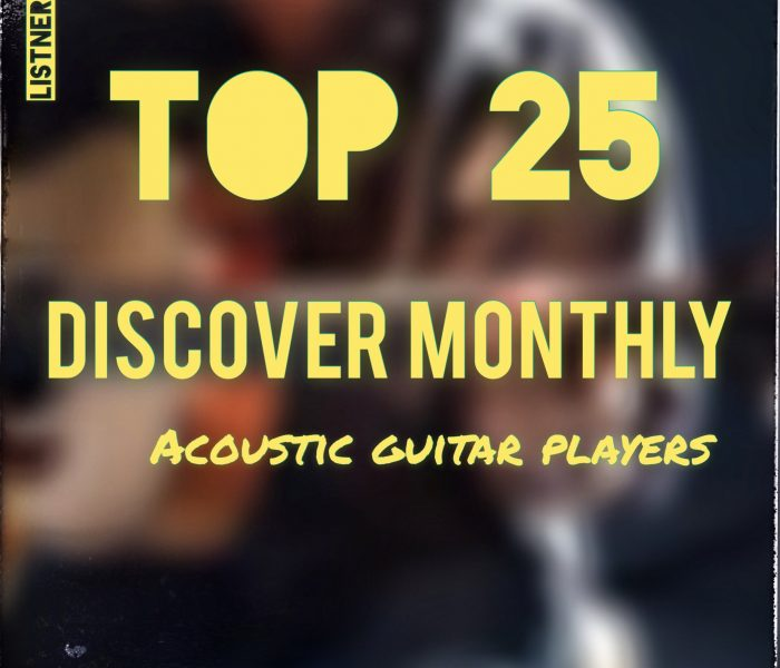 TOP 25 Acoustic Guitar Players – September 2019